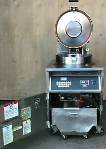 Bki Industries Electric Chicken Pressure Fryer Used