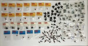 Huge Lot Of 137 C k Toggle Switches Jbt Switch Parts New Old Stock