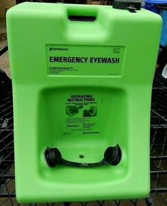 Eye Wash Station Portable 10 Gallon Complete Clean Excellent Conditon
