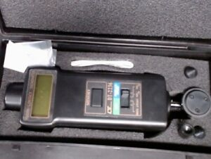 Lutron Dt 2236 Digital Laser Rpm Tachometer Contact Measurement Tool