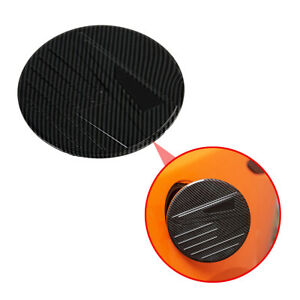Auto Carbon Fiber Fuel Tank Cap Cover Decorate For Mazda 3 Axela 2019 2020 Parts