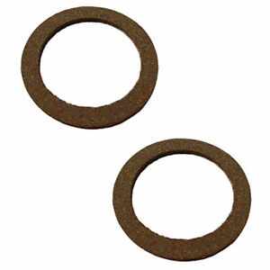 2 Pack Fuel Sediment Bowl Cork Gaskets Fit Ih Farmall Cub 330 424 504 606 656