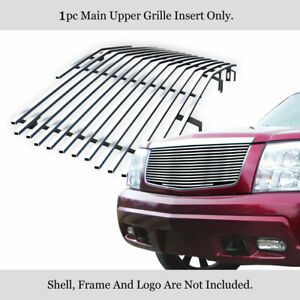 Fits 2002 2006 Cadillac Escalade ext exv Main Upper Billet Grille Insert