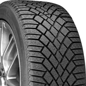 2 New Continental Vikingcontact 7 225 60r16 102t Xl studless Winter Tires