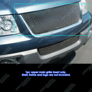Fits 03 06 Ford Expedition Vertical Billet Grille Grill Insert