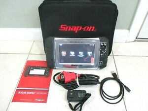 Snap On Solus Ultra Diag Full Function Scanner Dom Asian Euro 2020 Like New