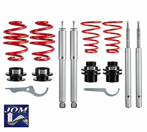 Jom Bmw 3 Series E30 Convertible 51mm Adjustable Coilover Suspension Kit Euro