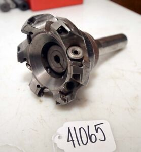 Carboly Indexable Face Mill 3 R8 Shank inv 41065