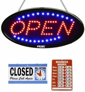 Led Open Sign For Business 23 X 14 Inch bigger Size Led Shop Light Neon Sign