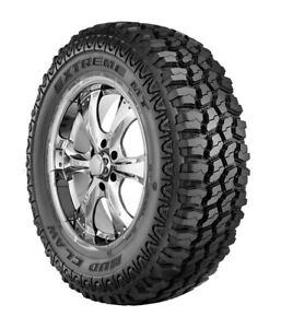 2 New Treadways Mudclaw Extreme M t Lt 245 75r16 Load E 10 Ply Mt Mud Tires