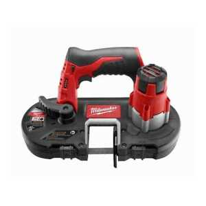 Milwaukee 2429 20 M12 Cordless Sub compact Band Saw tool Only 2x New