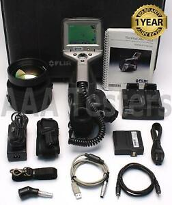 Flir Thermacam P65 60hz 320 240 Infrared Thermal Imaging Camera Ir Imager P 65