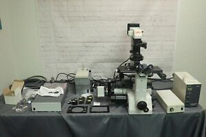 Nikon Te300 Inverted Fluorescence Microscope W Lep Motorized Stage Mac5000 Etc