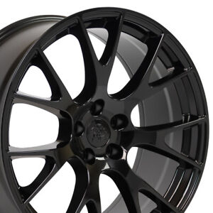 Cp 20 Rims Fit Dodge Challenger Charger Chrysler 300 Hellcat Gloss Black 2528
