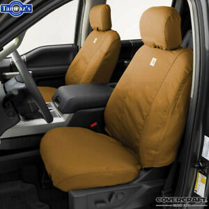 2013 2016 Ram 1500 2500 3500 Covercraft Carhartt Front Seat Covers Brown