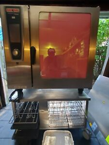 Rational Oven 102g low Usage w Accessories Oven Stand