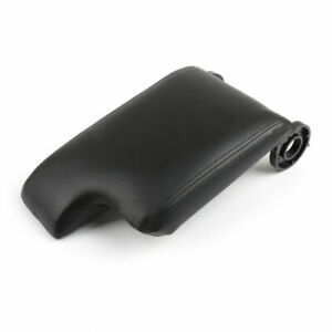 Leather Armrest Center Console Lid Cover For Bmw E46 3 Series 98 06 Black Usa