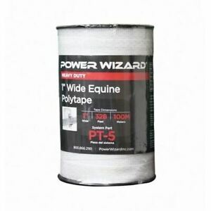 Agratronix Poly tape 1 0in Wide 328ft100m Electric Fence Pt 5