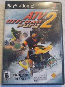 CIB ATV Offroad Fury 2 (Sony PlayStation 2 PS2  2002) COMPLETE IN BOX