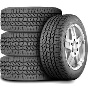 4 New Cooper Discoverer A tw 235 75r16 108s At All Terrain Tires