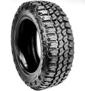 2 New Americus Rugged M T Lt 245 75r17 Load E 10 Ply Mt Mud Tires