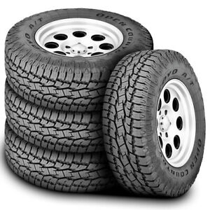 4 Toyo Open Country A t Ii Lt 245 70r17 119 116r E 10 Ply At All Terrain Tires