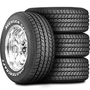 4 New Mastercraft Avenger G t 235 60r14 96t A s All Season Tires