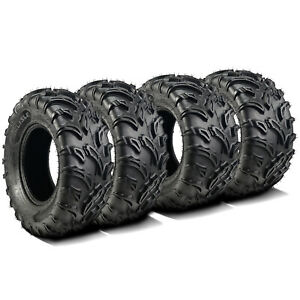 Carlisle Black Rock 27x9 12 And 27x11 12 All Terrain Atv Utv 6 Ply Bundle 4 Tire