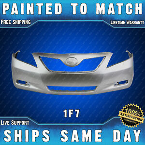 New Painted 4q2 Desert Sand Front Bumper Cover For 2007 2008 2009 Toyota Camry