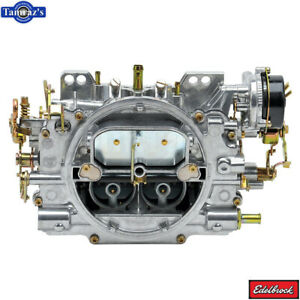 Edelbrock 1406 Performer Series Carb 600 Cfm With Electric Choke Satin Finish