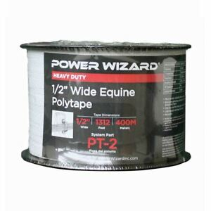 Agratronix Poly tape 1 2in Wide 1312ft400m Electric Fence Pt 2