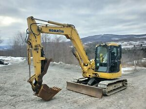 2007 Deere 35d Excavator Enclosed Cab Heat A c Hydraulic Thumb Nice We Finance
