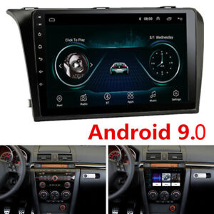 2din 9 Android Radio For 2004 2009 Mazda 3 Stereo Gps 3g 4g Mirror Link 2 16g