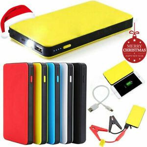 Portable 20000mah Car Jump Starter Engine Battery Charger Booster Power Bank 12v