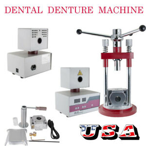 Dental Flexible Partial Denture Making Machine Injection System Manual Type 400w