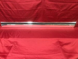 1977 1978 1979 Chevrolet Caprice 2 Dr Chrome Right Door Molding Wow 78k