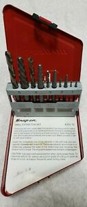 Snap On Exdl10 Lh Cobalt Drill Extractor 10 Pc Set Pre Owned