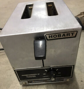 Used Hobart Commerical Dimension Ii Toaster No Crumb Catcher Pan