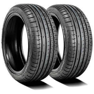 2 New Accelera Phi R 215 40zr17 215 40r17 87w Xl A S High Performance Tires