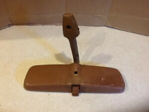 Vintage 1950 S Chevy Rear View Mirror Brown