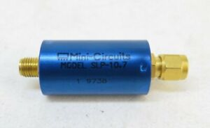Mini Circuits Slp 10 7 Lumped Lc Low Pass Filter Dc 10 7mhz