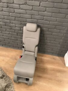 2020 Honda Odyssey Center Jump Seat Middle Seat 2nd Second Row Gray Leather