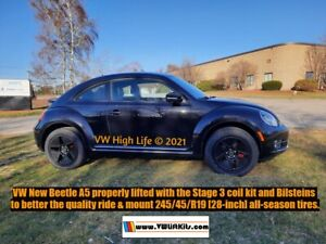 Lift Kit For Vw New Beetle A5 2011 2019 Baja Dune Stage 3 Bilstein Suspension