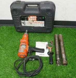 Weka Dk 1203 Handheld Diamond Core Drill With Hard Case 2 Bits 2