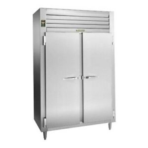 Traulsen Alt232wut fhs 51 6 Cu Ft Two section Solid Door Reach in Freezer