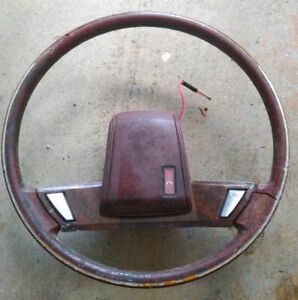 Oldsmobile Cutlass Delta 88 Steering Wheel Oem Gm 79 80 81 82 83 84 85 86 87 88