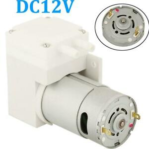 Dc12v Mini Vacuum Pump Negative Pressure Suction Pumping 7l min 76kpa 50w Us