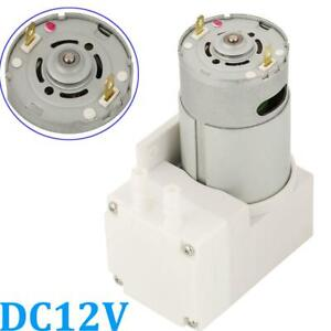 Dc 12v Vacuum Pump Negative Pressure Suction Pumping Pump 7l min 76kpa 50w New
