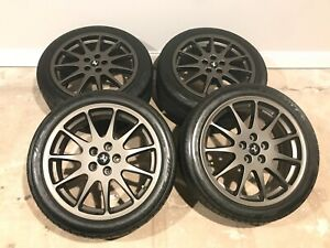 Ferrari F355 18 Oem Speedline Full Set Wheels And Tires P N 70002289 Like New