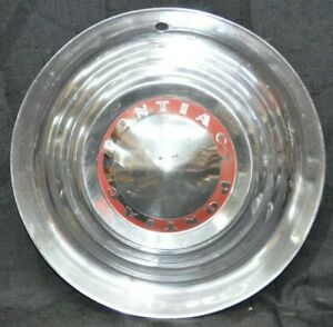 1953 1954 Pontiac Starchief Bonneville Chieftain 15 Hubcap